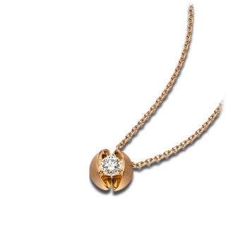Schaffrath Halskette mit Anhänger Calla CALL2-C-RG-0.10GSI-42