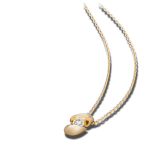 Schaffrath Halskette mit Anhänger Calla CALLA-C-GG-0.19GSI-42