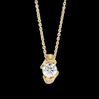 Schaffrath Halskette mit Anhänger Calla CALSO-C-GG-0.30GSI