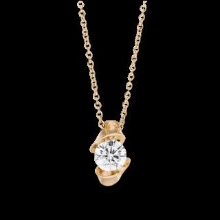 Schaffrath Halskette mit Anhänger Calla CALSO-C-RG-0.18GSI