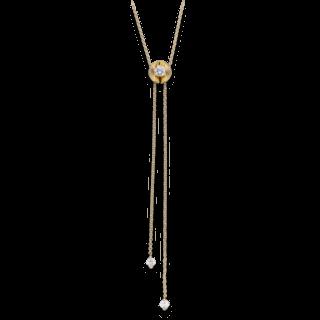 Schaffrath Halskette mit Anhänger Calla CALYA-C-GG-0.31GSI