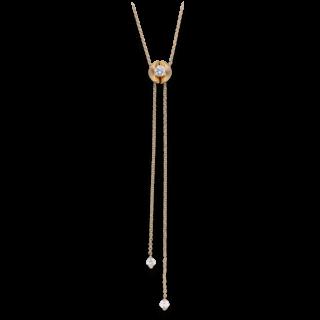 Schaffrath Halskette mit Anhänger Calla CALYA-C-RG-0.31GSI