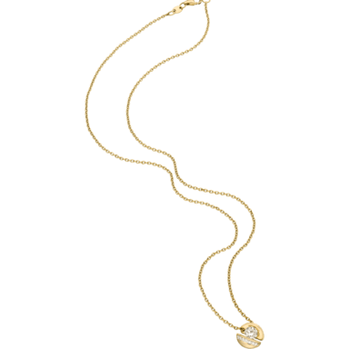 """Schaffrath Halskette mit Anhänger Calla """"Onefold"""" CALLY-C-GG-0.24GSI-42"""