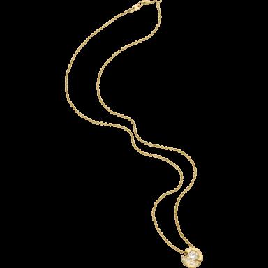 """Schaffrath Halskette mit Anhänger Calla """"Onefold"""" CALLY-C-GG-0.35GSI-42"""
