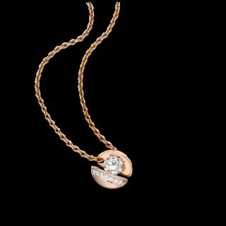 """Schaffrath Halskette mit Anhänger Calla """"Onefold"""" CALLY-C-RG-0.77GSI-42"""