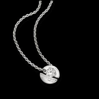 """Schaffrath Halskette mit Anhänger Calla """"Onefold"""" CALLY-C-WG-0.77GSI-42"""