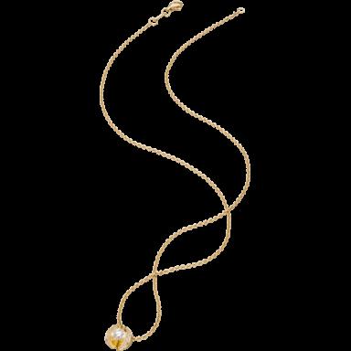 """Schaffrath Halskette mit Anhänger Calla """"Twofold"""" CALLX-C-GG-0.40GSI-42"""