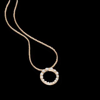 Schaffrath Halskette mit Anhänger Classics 27414-C-RG-0.87GVS-42