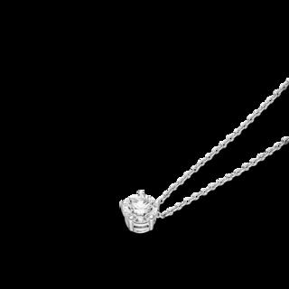 Schaffrath Halskette mit Anhänger Classics 27505-C-WG-0.15GSI