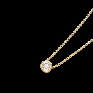Schaffrath Halskette mit Anhänger Classics 27507-C-GG-0.50GSI