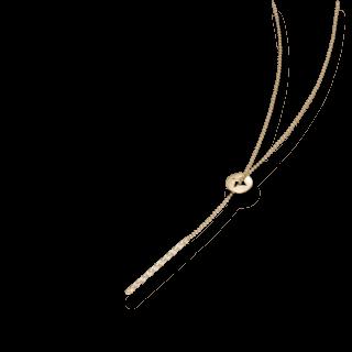 Schaffrath Halskette mit Anhänger Classics 27610-C-GG-0.24GVS