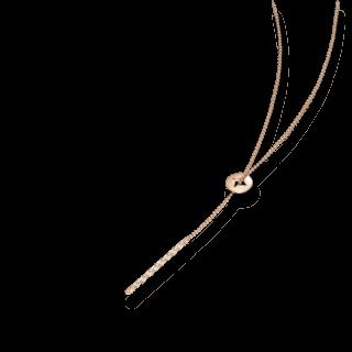 Schaffrath Halskette mit Anhänger Classics 27610-C-RG-0.24GVS