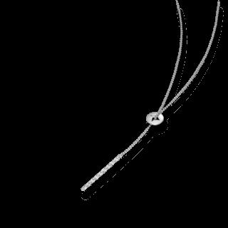 Schaffrath Halskette mit Anhänger Classics 27610-C-WG-0.24GVS