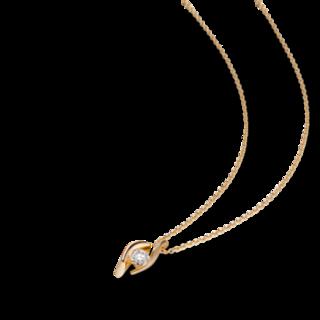 Schaffrath Halskette mit Anhänger Classics DDC-C-GG-0.15GSI