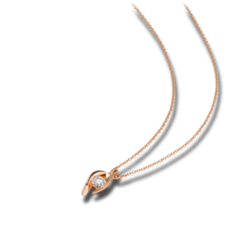 Schaffrath Halskette mit Anhänger Classics DDC-C-RG-0.15GSI