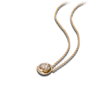 Schaffrath Halskette mit Anhänger The Diamond Conspiracy DC003-C-RG-0.45GVS