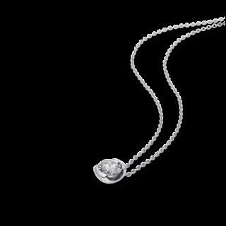 Schaffrath Halskette mit Anhänger The Diamond Conspiracy DC003-C-WG-0.35GSI