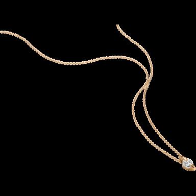 """Schaffrath Halskette mit Anhänger Liberté """"Der Freizügige"""" L2003-C-RG-0.30GSI-42"""