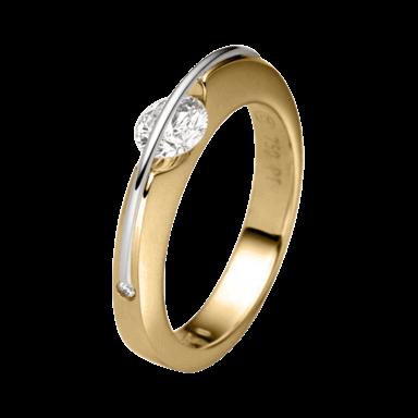 """Schaffrath Ring Liberté """"Der Klassiker"""" L1001-R-GG-0.21GSI"""