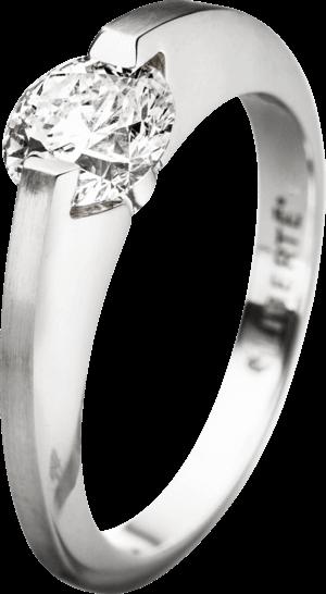 """Ring Schaffrath Liberté """"Der Kompromisslose"""" aus 750 Weißgold mit 1 Brillant (1 Karat)"""