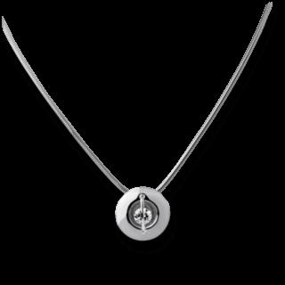 """Schaffrath Halskette mit Anhänger Liberté """"Der Schöne"""" L1050-C-WG-0.32GSI-42"""