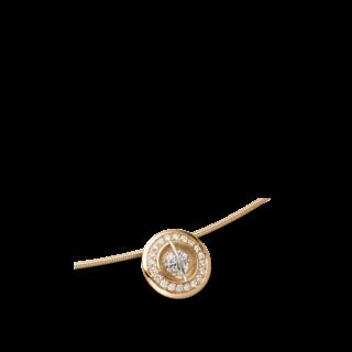 """Schaffrath Halskette mit Anhänger Liberté """"Der Schöne"""" L1150-C-RG-0.34GSI-42"""