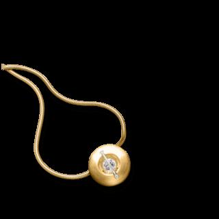 """Schaffrath Halskette mit Anhänger Liberté """"Der Schöne"""" matt L1050-C-MGG-0.32GSI-42"""