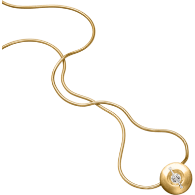 """Schaffrath Halskette mit Anhänger Liberté """"Der Schöne"""" matt L1050-C-MGG-0.52GSI-42"""