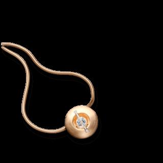 """Schaffrath Halskette mit Anhänger Liberté """"Der Schöne"""" matt L1050-C-MRG-0.32GSI-42"""