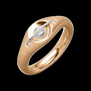 """Schaffrath Ring Liberté """"Der Schöne"""" L1050-R-RG-0.28GSI"""