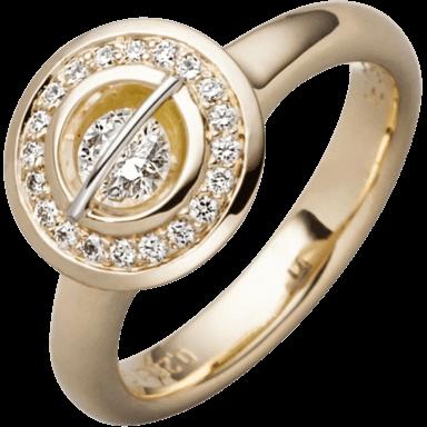 """Schaffrath Ring Liberté """"Der Schöne"""" L1150-R-GG-0.55GSI"""