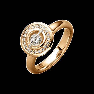 """Schaffrath Ring Liberté """"Der Schöne"""" L1150-R-RG-0.55GSI"""