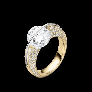 "Schaffrath Ring Liberté ""Die Ikone"" L1730-R-GG-1.00GSI"