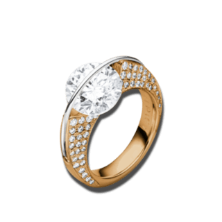 "Schaffrath Ring Liberté ""Die Ikone"" L1730-R-RG-1.00GSI"