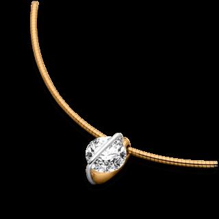 Schaffrath Halskette mit Anhänger Liberté L1002-C-RG-0.41GSI-42