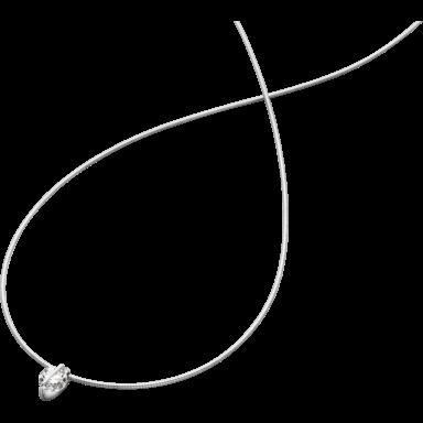Schaffrath Halskette mit Anhänger Liberté L1002-C-WG-0.31GSI-42
