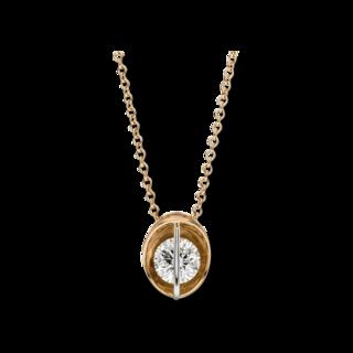 Schaffrath Halskette mit Anhänger Liberté L1061-C-RG-0.30GSI