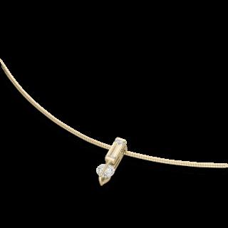 Schaffrath Halskette mit Anhänger Liberté L1755-C-GG-0.40GSI-45