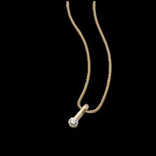 Schaffrath Halskette mit Anhänger Liberté L2020-C-GG-0.30GSI-42