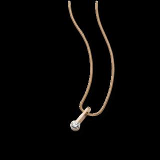 Schaffrath Halskette mit Anhänger Liberté L2020-C-RG-0.30GSI-42