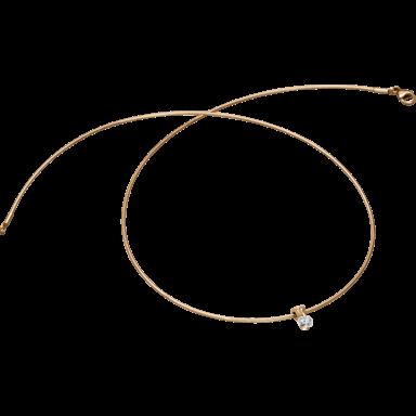 Schaffrath Halskette mit Anhänger Liberté L2051-C-RG-0.27GSI-42