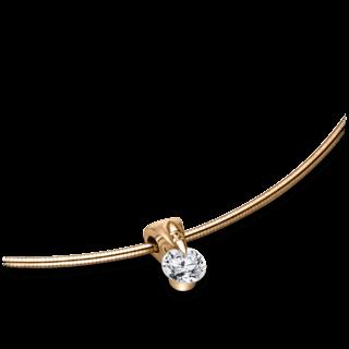 Schaffrath Halskette mit Anhänger Liberté L2051-C-RG-0.32GSI-42