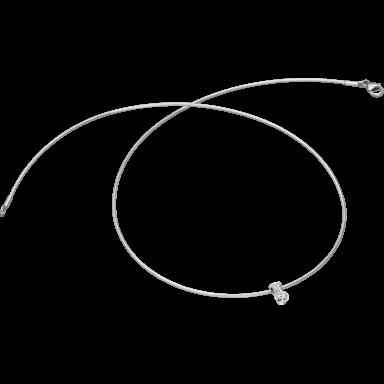 Schaffrath Halskette mit Anhänger Liberté L2051-C-WG-0.27GSI-42
