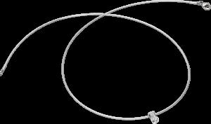 Halskette mit Anhänger Schaffrath Liberté aus 750 Weißgold mit 2 Brillanten (0,32 Karat)