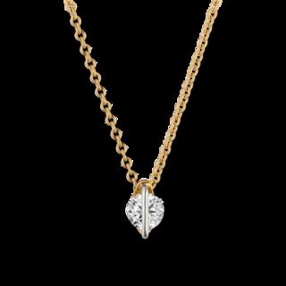 Schaffrath Halskette mit Anhänger Liberté LN002-C-GG-0.18GSI
