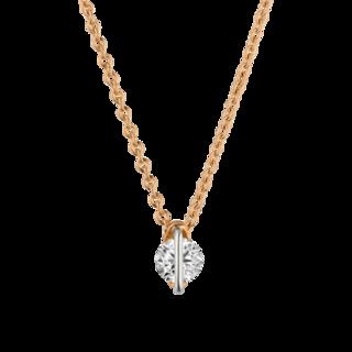 Schaffrath Halskette mit Anhänger Liberté LN002-C-RG-0.18GSI-42