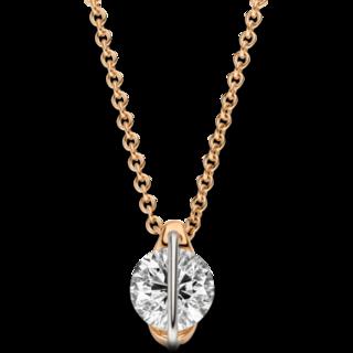 Schaffrath Halskette mit Anhänger Liberté LN002-C-RG-1.00GSI-42