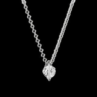 Schaffrath Halskette mit Anhänger Liberté LN002-C-WG-0.18GSI