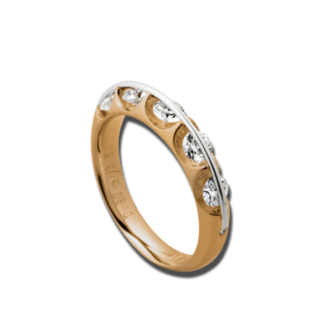 Schaffrath Ring Liberté L1045/47-R-RG-0.81GSI
