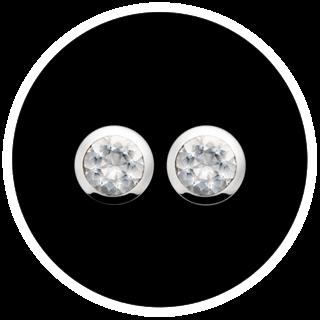 Silberohrringe